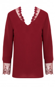 Romance-Lace-Blouse-Bordeaux