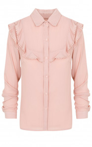 Blouse-Met-Ruches-Roze
