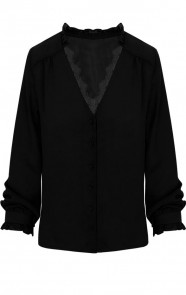 Lace-Blouse-Exclusive-Zwart