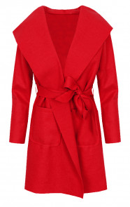 Wanted-Coat-Short-Rood