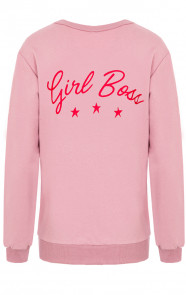 Girl-Boss-Sweater-Oud-Roze