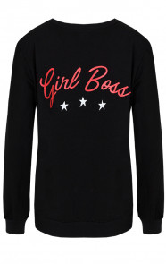 Girl-Boss-Sweater-Zwart