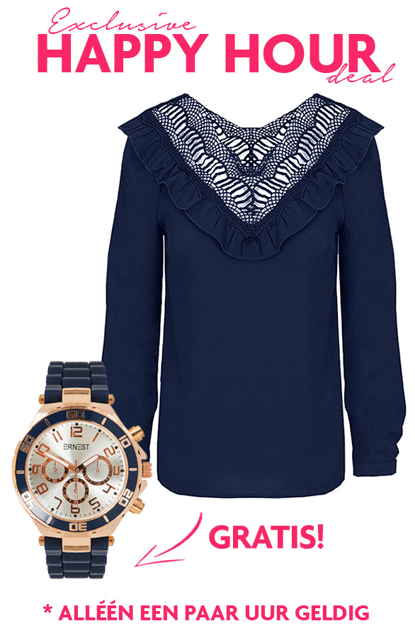 Happy-Hour-Deal-Blouse-Gratis-Horloge