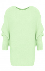 Oversized-Soft-Trui-Lime