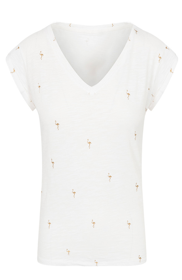 Flamingo-Top-V-Creme