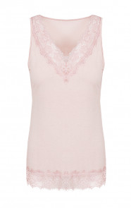 Kanten-Basic-Top-Roze