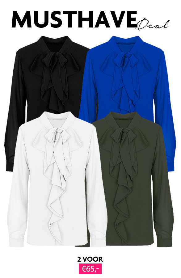 Musthave-Deal-Ruches-Blouses