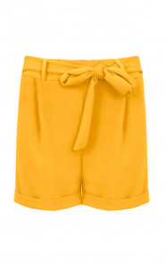 Basic-Strik-Shorts-Okergeel