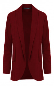 Basic-Blazer-Bordeaux