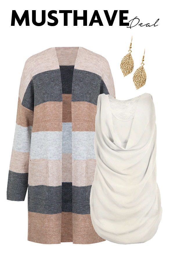 Musthave-Deal-Strepen-Taupe