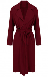 Trenchcoat-Dames-Bordeaux