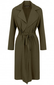 Trenchcoat-Dames-Legergroen-1