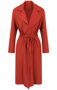 Trenchcoat-Dames-Terracotta
