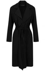 Trenchcoat-Dames-Zwart-1