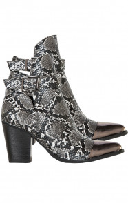 Slangenprint-Metallic-Boots