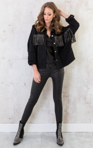 Fringe-Jacket-Exclusive-Zwart-3