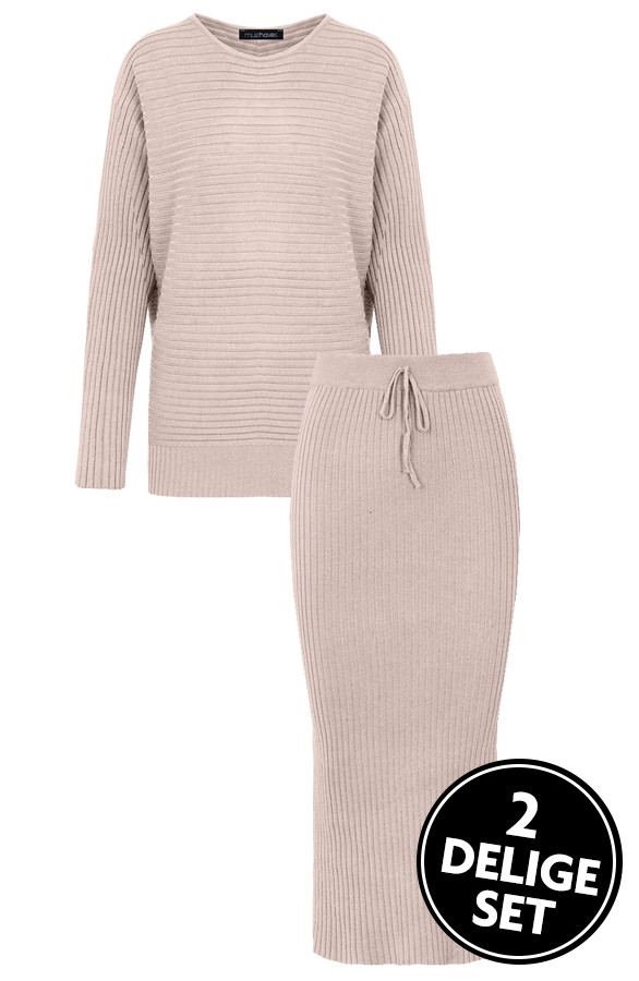 Twinset-2-Piece-Ecru