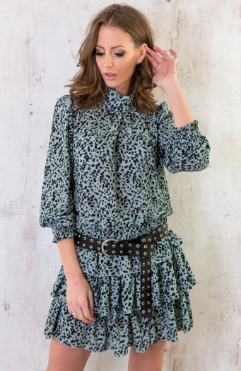 Leopard-Blouse-Mint-1