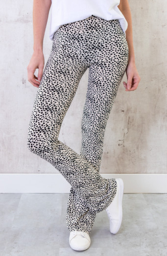 Flared-Broek-Cheetah-Creme-6