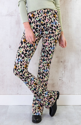 Flared-Broek-Cheetah-Multicolor-2