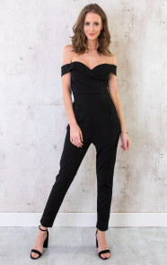 Jumpsuit-Off-Shoulder-Zwart-2