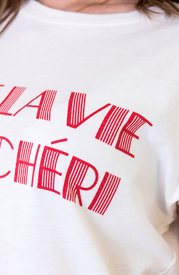 Mon Chérie Top Rood | Themusthaves.nl