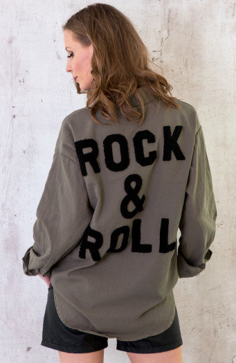 Rock-N-Roll-Blouse-Legergroen-2