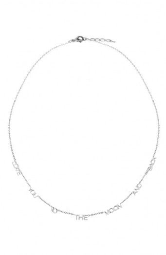 Love-You-To-The-Moon-Ketting-Zilver
