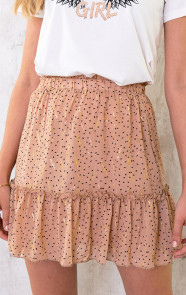 Polkadot-Feather-Rok-Beige-2