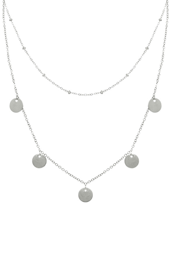 Coins-Ketting-Dames-Zilver-1