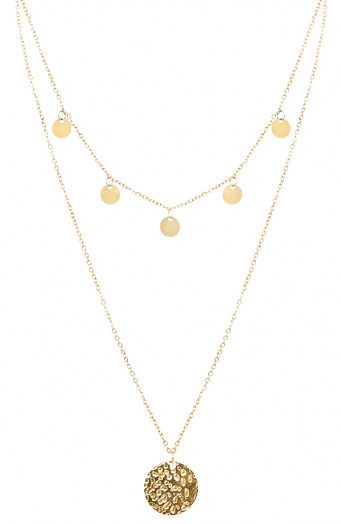 Coins-Layer-Ketting-Goud