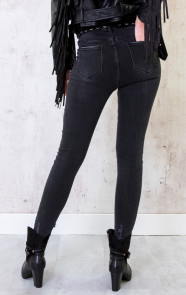 Skinny-High-Waisted-Jeans-Donkergrijs-3