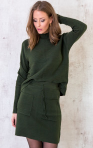 Twinset-Trui-Met-Col-Army-4