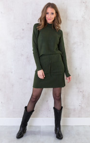 Twinset-Trui-Met-Col-Army-5