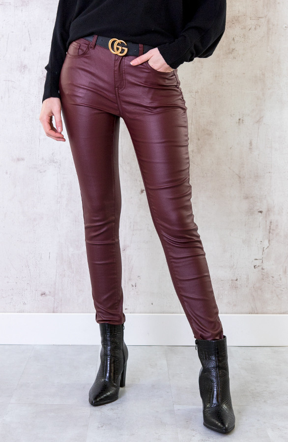 High-Waist-Coating-Jeans-Bordeaux-2