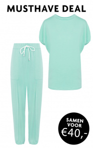 Joggingpak-Dames-Mint