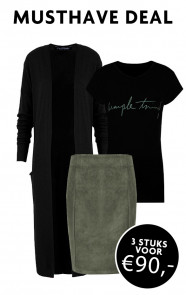 Musthave-Deal-Simple-Jersey-Groen