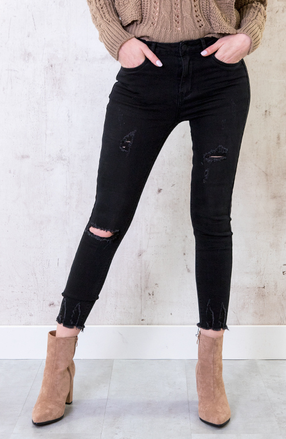 Skinny-High-Waisted-Jeans-Donker-4