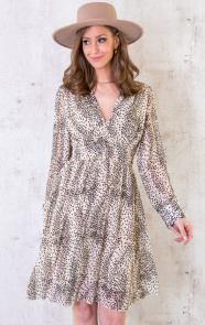 Cheetahprint-Jurk-Dames-Beige-5