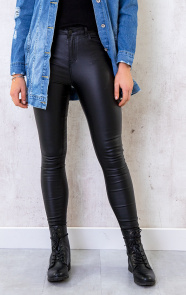 Coating-Jeans-Black