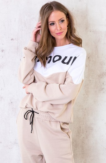 Comfy Sweater Amour Beige
