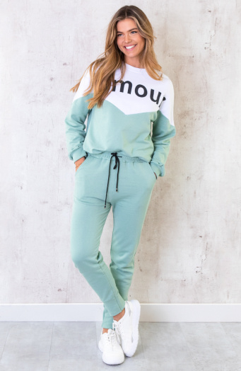 Comfy Joggingpak Amour Mint
