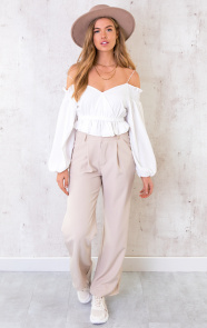 Crop-Off-Shoulder-Blouse-Ecru-2