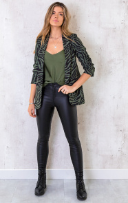 Silk-Touch-Spaghetti-Top-Army-1