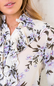 Floral-Print-Ruches-Blouse-3