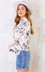 Floral-Print-Ruches-Blouse-5