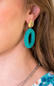 Oval-Limited-Oorbellen-Turquoise-1