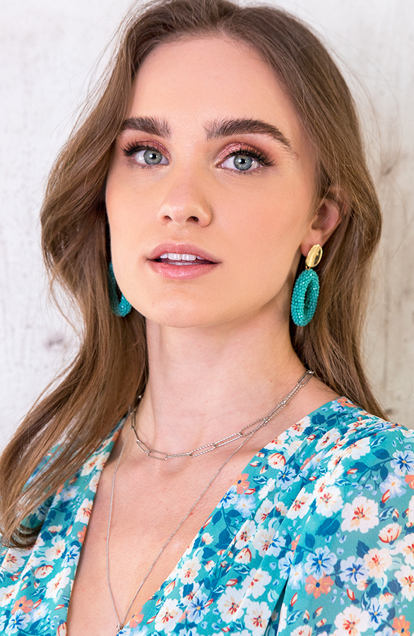 Oval-Limited-Oorbellen-Turquoise-2