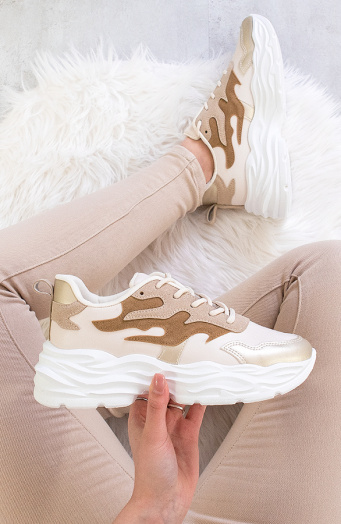 Dad Sneakers Beige