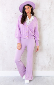 Flared-Broek-Extremely-Stretch-Lila-2